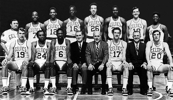 50 Years Ago, Today. The Boston Celtics Win Their 11th NBA